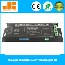 Signal Dimming DMX/0-10V Signal Converter for 4CH