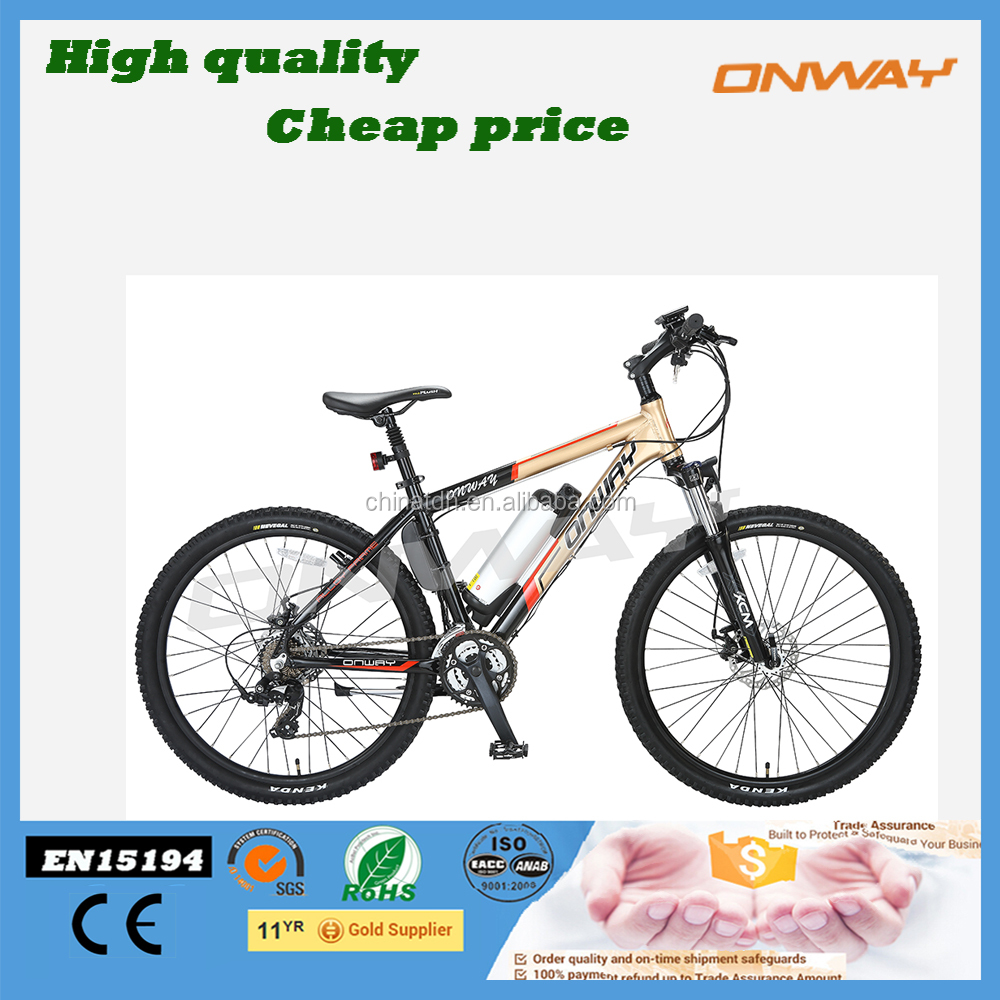 24V 250W Cheap full Suspension Fork hummer electric mountain bikes