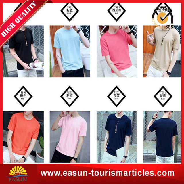 Custom bamboo t shirt cheap overnight sleep shirts comfortable polo shirt 100% cotton