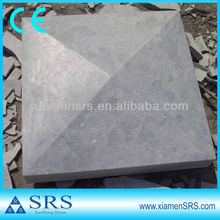 Cheap blue limestone pier cap