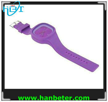 2013 fashion Jelly clock with Japan movement and 3ATM waterproof