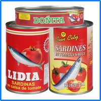 canned sardine chunk food made in China