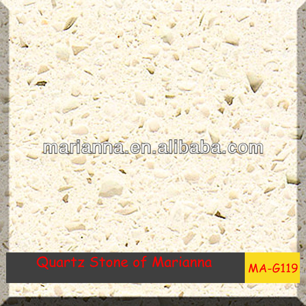 Foshan supplier Artificial quartz stone , lowes cheap epoxy resin kitchen countertop