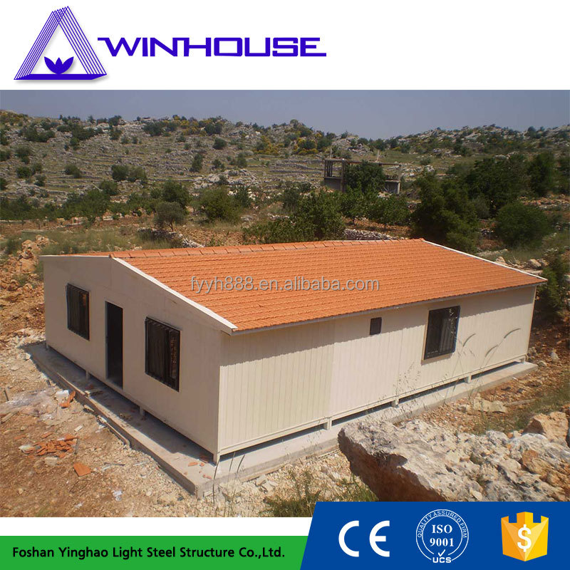 Environmental Protection Cheap Steel Structure Prefab House In Cyprus