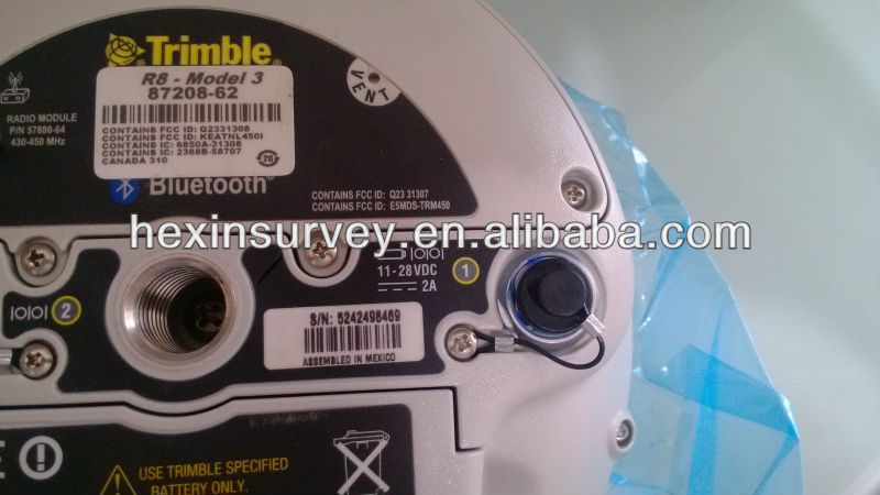 trimble r8 rtk gps 440 channles with transreceiver UHF