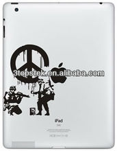 Skin sticker for iPad4,Unique decal for iPad3
