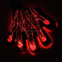 glow light glow finger gloves party