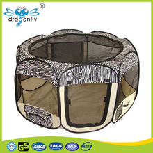 folding fabric pet barrier playpen pet enclosure play pen