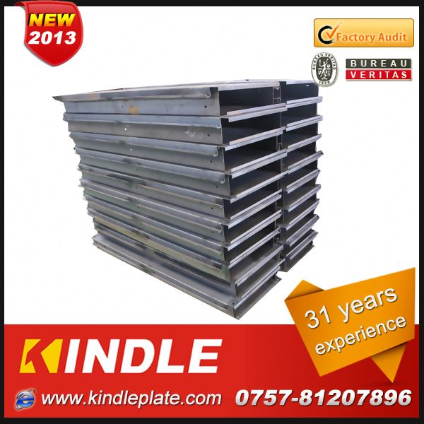 Kindle New customized galvanized price for structural steel fabrication in Guangdong ISO9001:2008