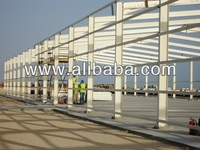 Steel hanger building structure