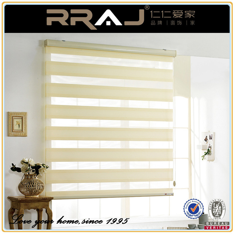 RRAJ China supplier home use latest design zebra roller blinds