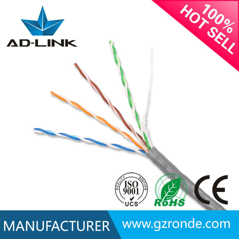High speed SCCA 24AWG UTP cat 5 twisted pair cable