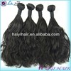 Grade 7A 8A 9A Double Wefts Full Cuticle top grade wavy wholesale peruvian hair