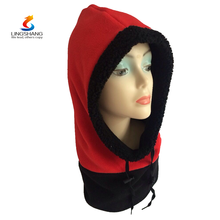 Wholesale windproof protected ear winter caps ski warm cap face masked snowboard hats