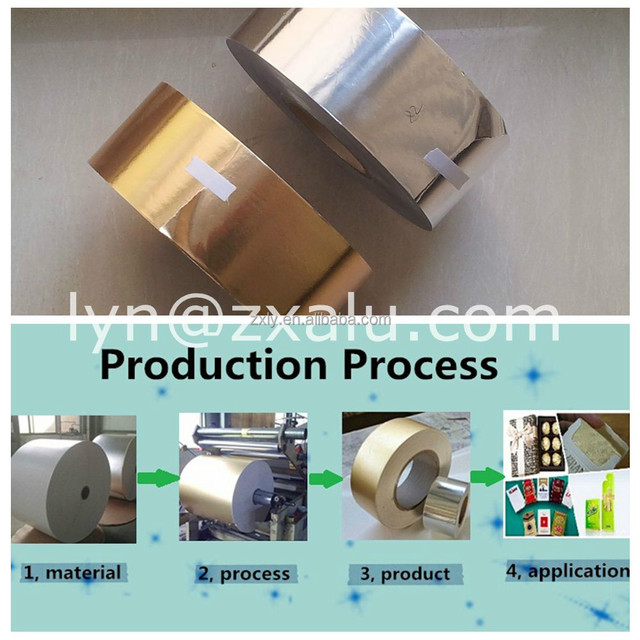 gold color aluminum foil paper best price for roll