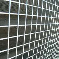 "Galvanized welded wire mesh 6"" x 6'' mesh panel"