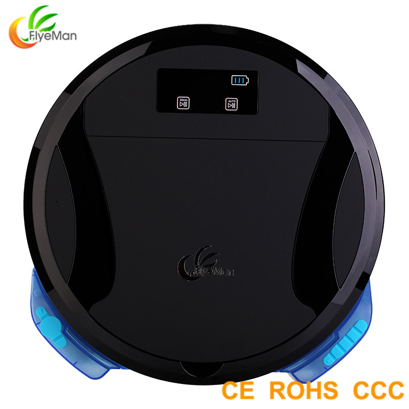 Strong Suction Power High Efficiency Robot Vacuum <strong>Cleaner</strong> With Mop With Water Tank