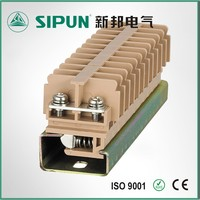 JF5 2.5mm din rail plate type terminal connector