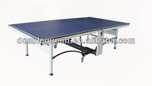 indoor MDF folding table tennis table with wheels