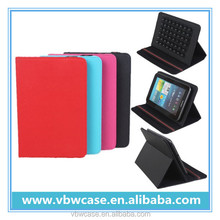 universal leather case for tablet 7 inch with belt