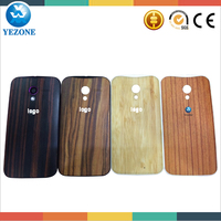 High Quality Wood Rear Cover For Motorola XT1058 XT1060 Battery Door