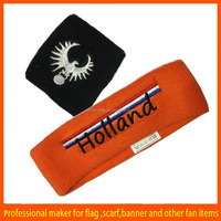 promotional sports terry sweatband