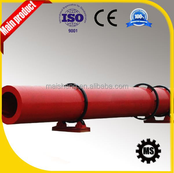 hot sale big capacity grain slag sawdust rotary dryer supplier