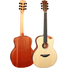 China feeling travel guitar instrumento mucical guitar 36B-BQJ