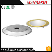 Piezoelectric ceramic materials round disc