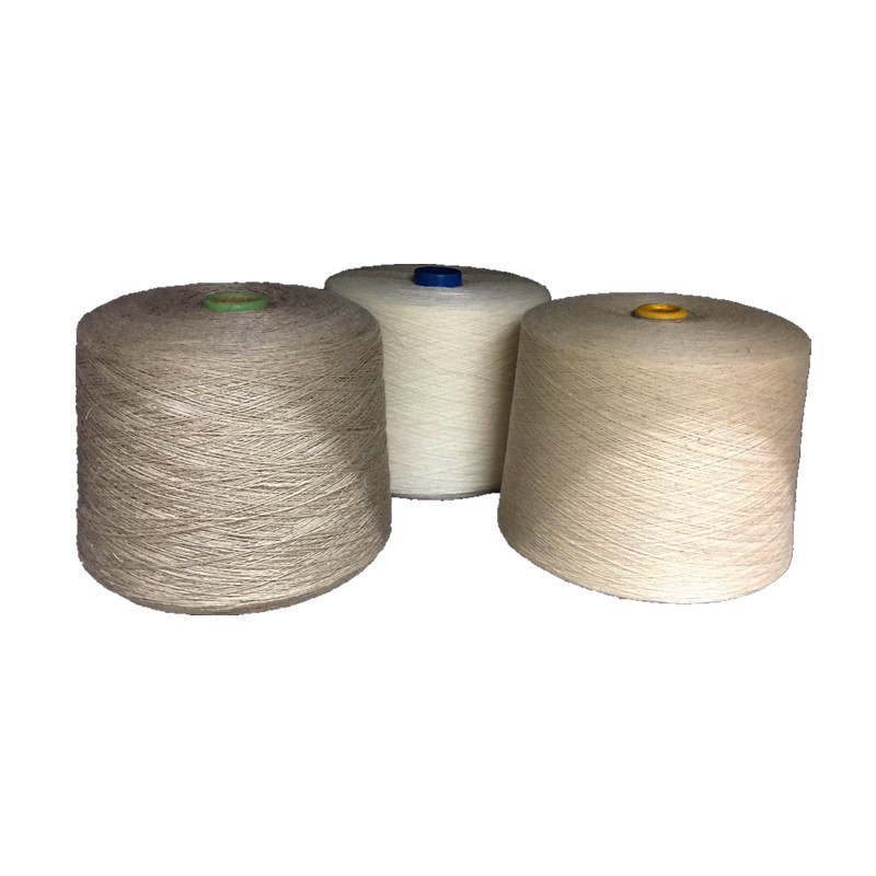 100 % linen yarn /natural /semi bleached / bleached