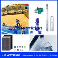 1 Phase 550W 220V DC/AC MPPT Variable Frequency Solar Pump Inverter For Water Pumping