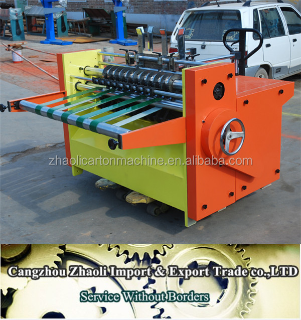 High Speed corruged Clapboard Partition Slotter Machine,carton making machine