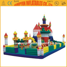 For rental inflatable air playground/durable inflatable fun city/Jumping house big games