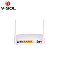 V-Solftth gpon ont 4GE 2FXS wireless router 802.11AC dual band wifi onu