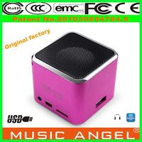 christmas gift Original Music Angel JH-MD07U play station 4 outdoor loveable usb mini speaker for tablet pc