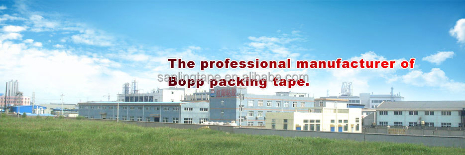 water based acrylic packaging BOPP adhesive tape