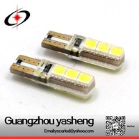 Hot Selling led width lamp t10, universal used led car light t10 5050 6smd led car bulb
