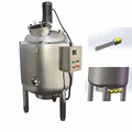 CE Certificated stainless steel 500L electric heated syrup mixing tank