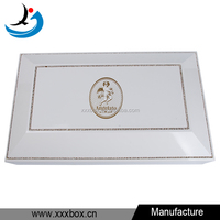 glossy wood large chocolate packaging box