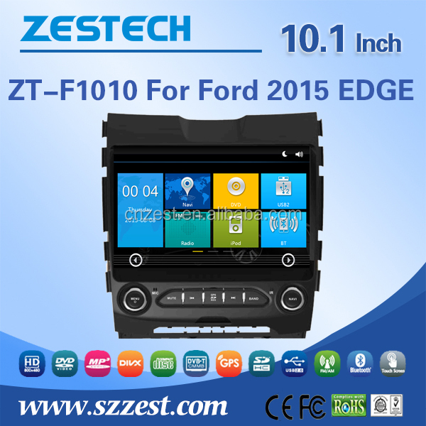 in-dash car dvd For FORD EDGE 2015 touch screen 2 din auto car audio radio player support DVR OBD DTV