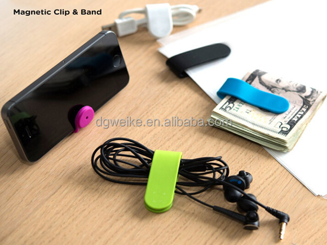 how to make a cell phone stand with paper clips