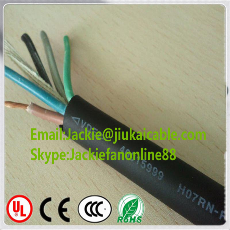 submersible flexible rubber cable h07rn-f