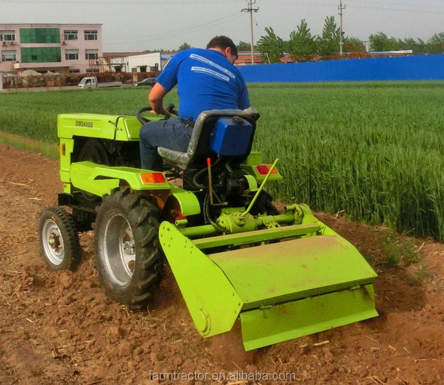 High quality and good price professional mini farm tractor with agricultural equipment