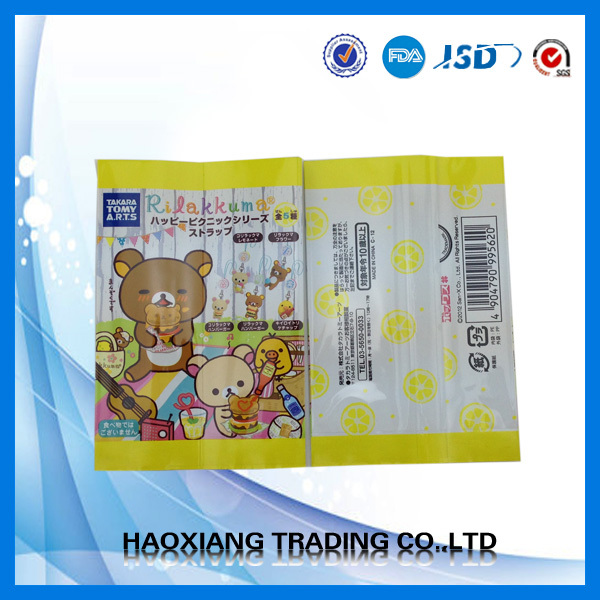 Plastic bag,plastic packing food bag,health food packing pouch heat seal