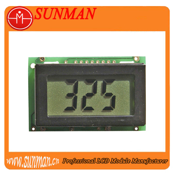 seven segment wireless little lcd display for digital meter