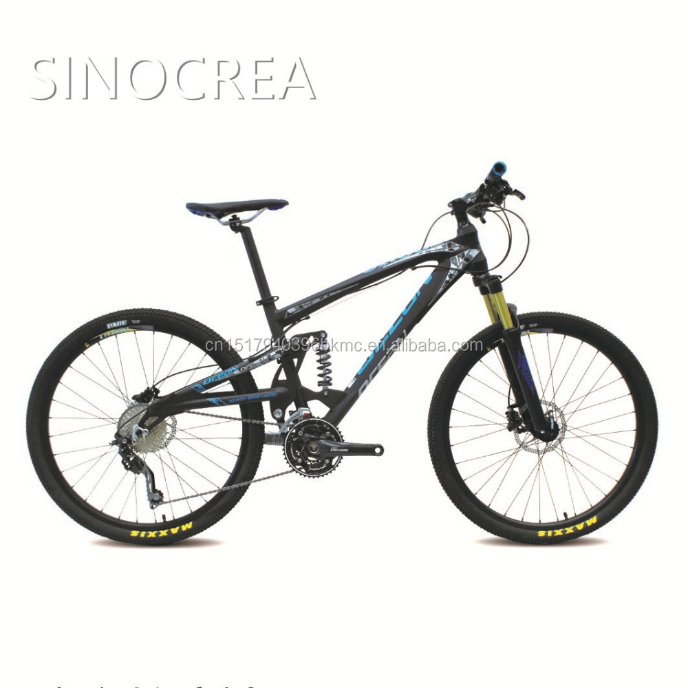 "OEM/Factory direct high quality 30S 26"" full suspension mountain bike alloy <strong>bicycle</strong> for sale"