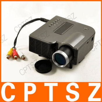 Mini led projector with lcd image system joy see uc20 110 for Buy small projector