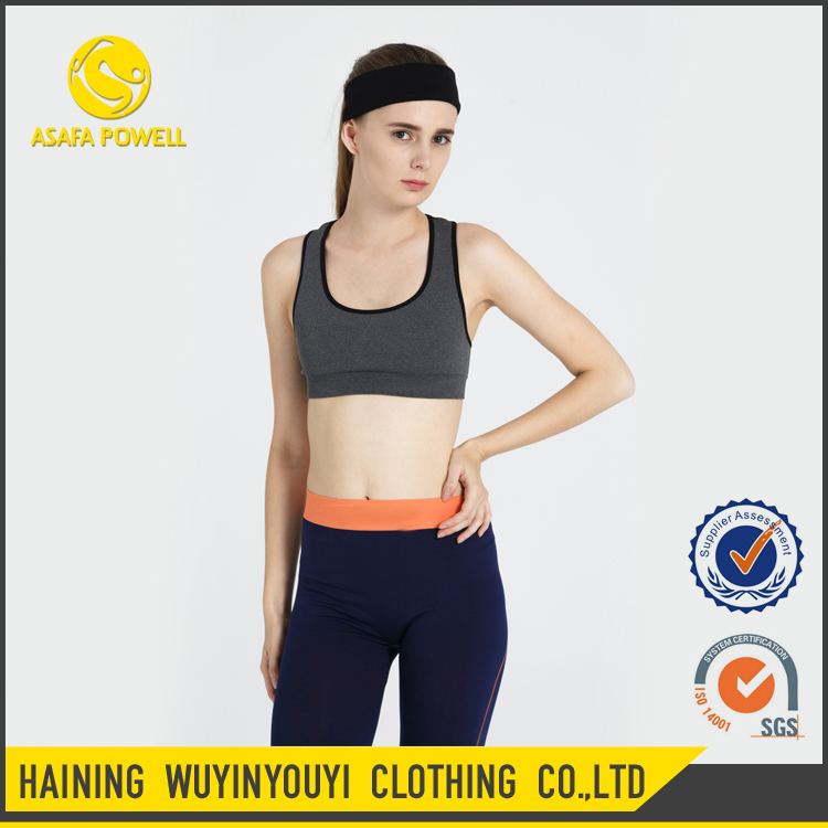 wholesale Hot Sell Custom Comfortable Sex Athletic Breathable Fitness Sport Bra For Women