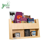The Bamboo Bunk Bed Shelf and Bedside Storage for Kids Rooms