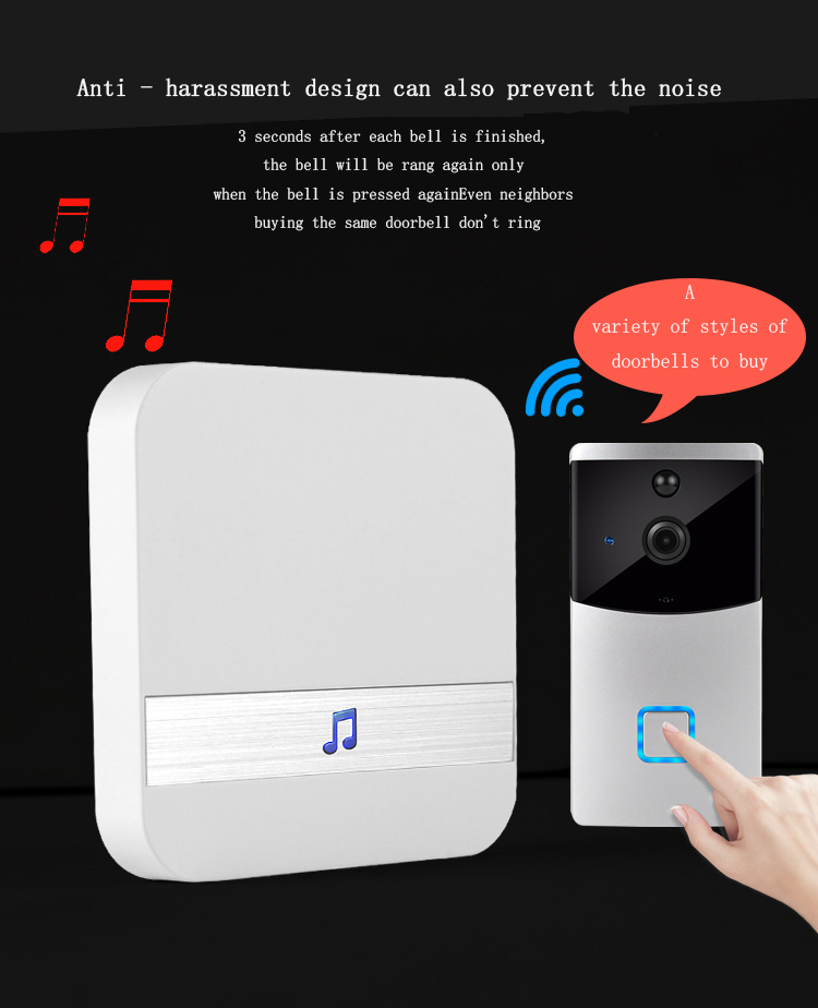 Wholesale  Rainproof Wireless Dingdong Doorbell Door Open Chime